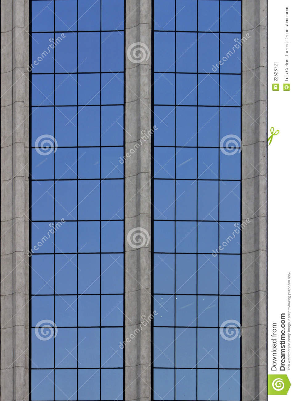 city building windows.  Office Building Windows Stock Image Image Of Glass Window 23526721