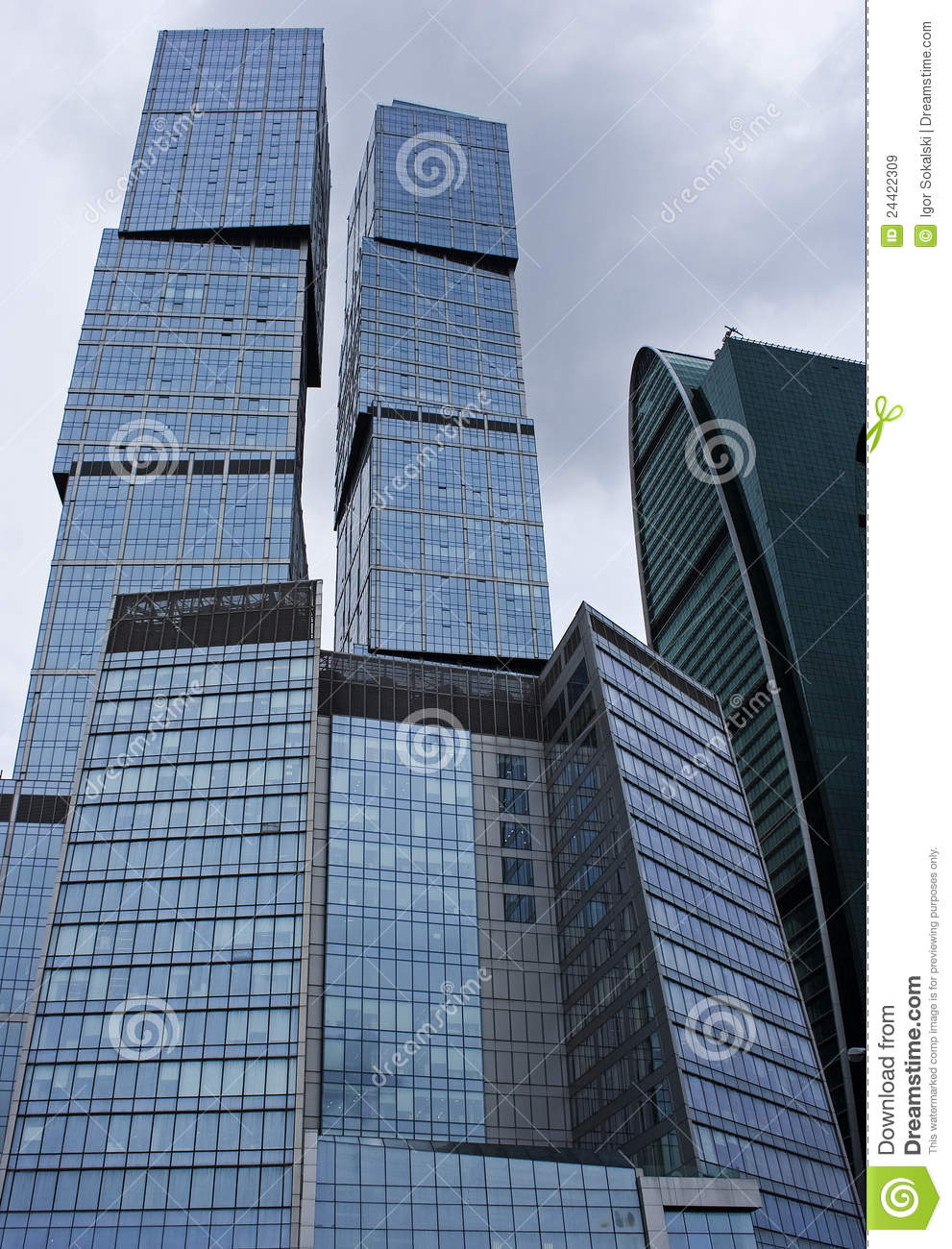 office buildings - modern architecture royalty free stock images