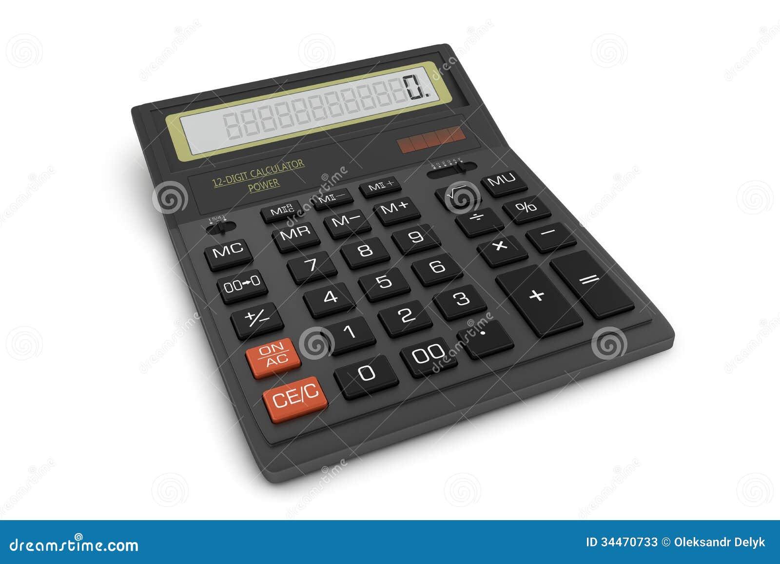 Office Calculator Stock Photos Image 34470733