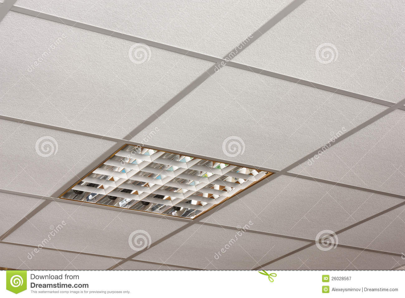 Office ceiling lamp close up diagonal view stock image image 26028567 - Office ceiling lamps ...
