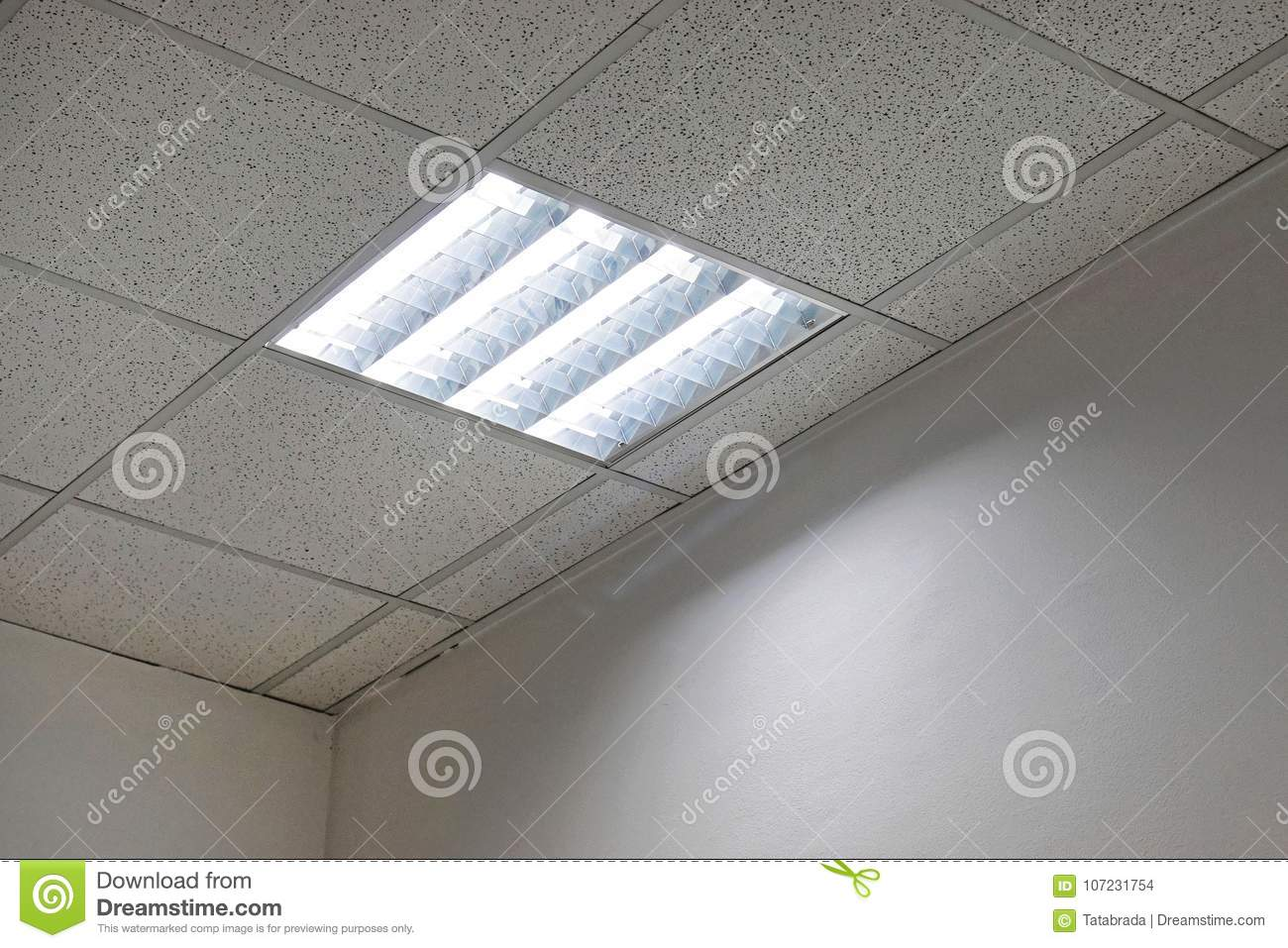 Office Ceiling Lamps Throughout Office Ceiling Lights Stock Photo Image Of Lamps Room 107231754