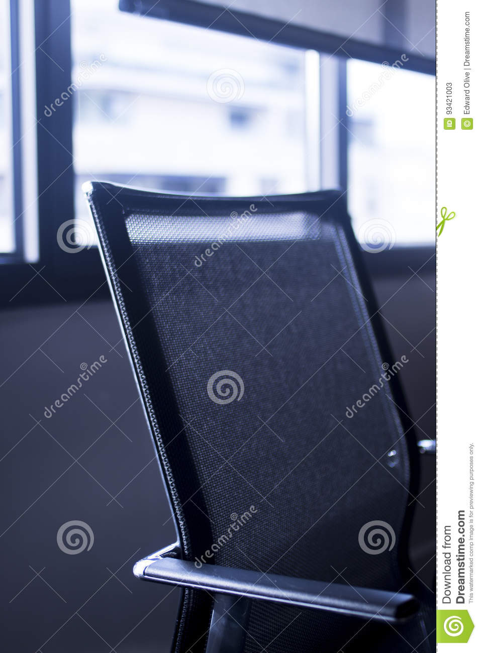 Office Chair Meeting Room Stock Image Image Of Background