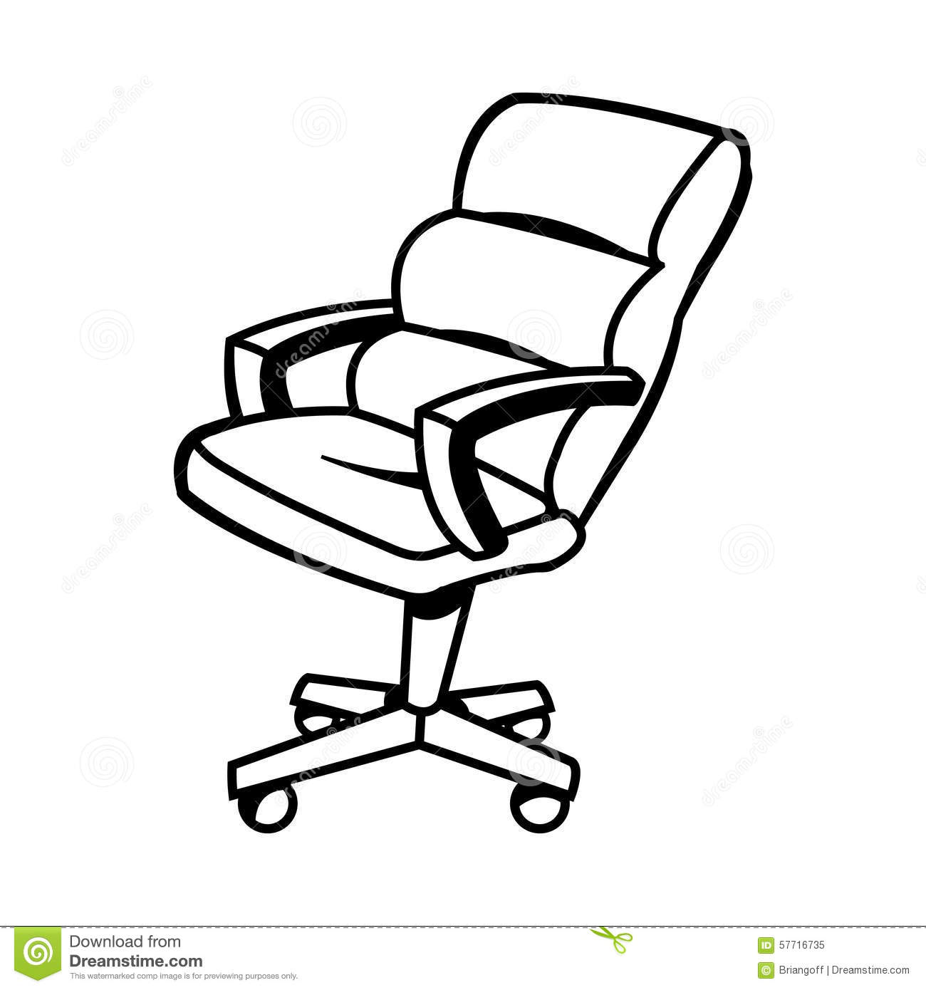 Office Chair Stock Image Of Design Grey Place
