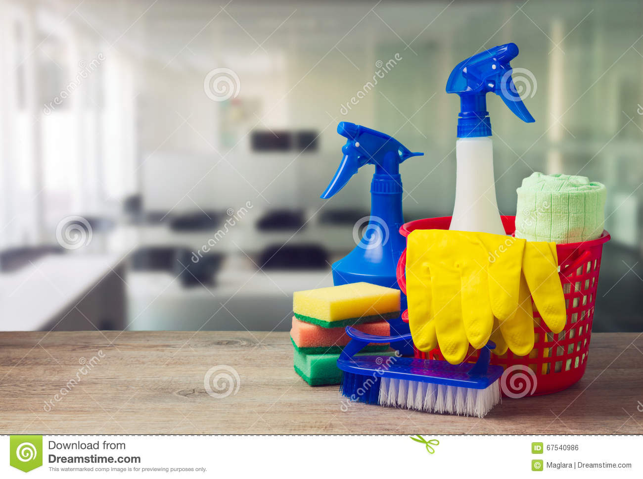 Cleaning Services Background