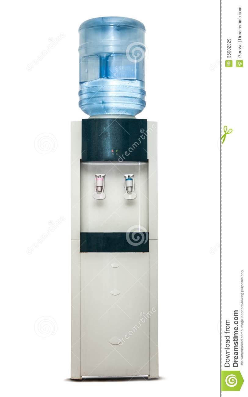 Office Cooler Stock Image Image Of Filling Potable