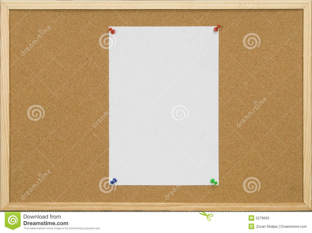 blank cork board - photo #30