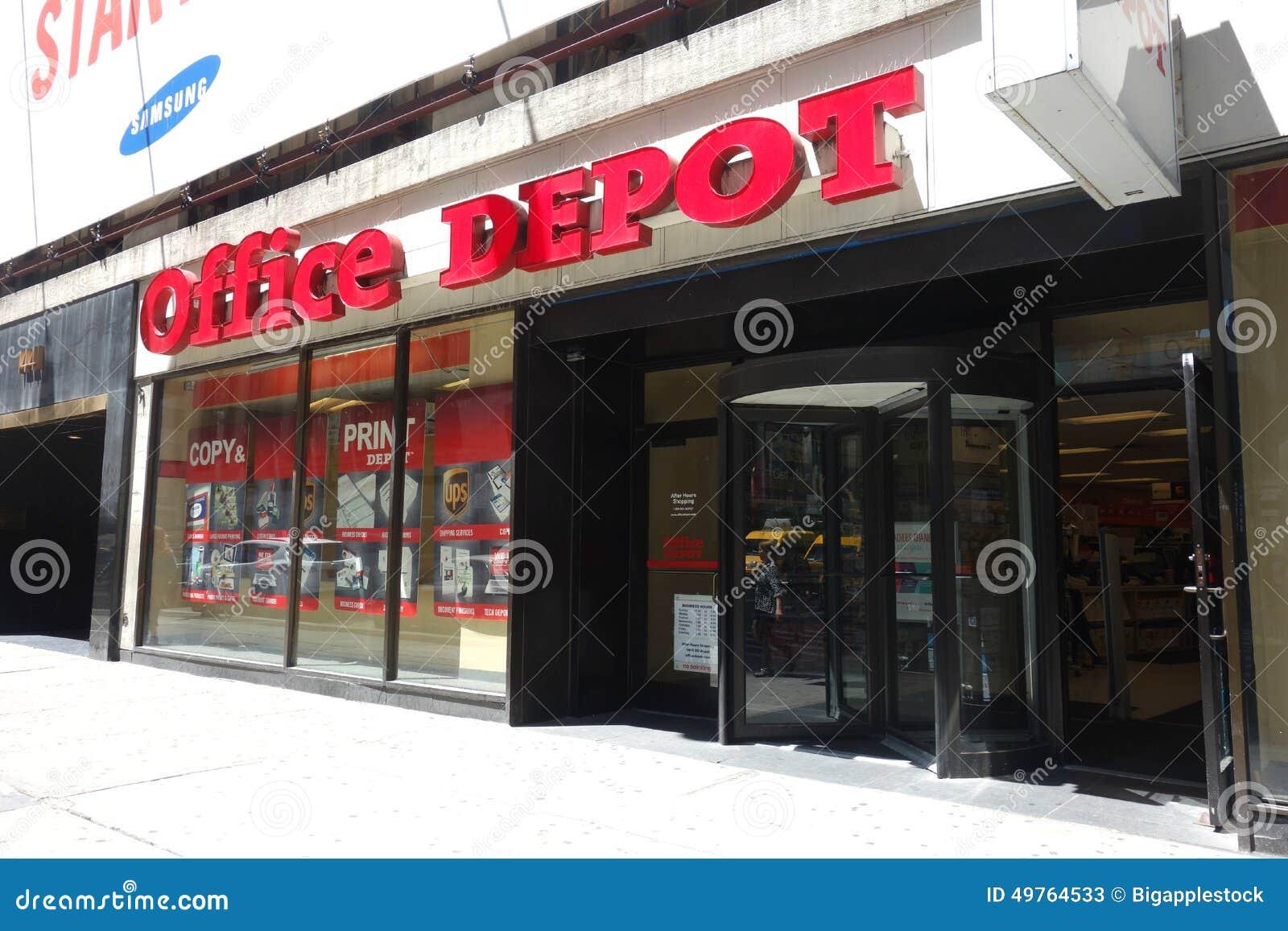 office depot editorial stock photo image 49764533. Black Bedroom Furniture Sets. Home Design Ideas