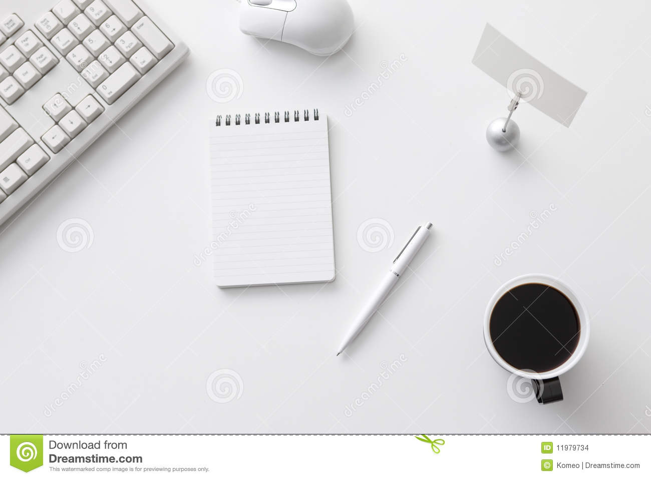 Office Desk Stock Images - Image: 11979734