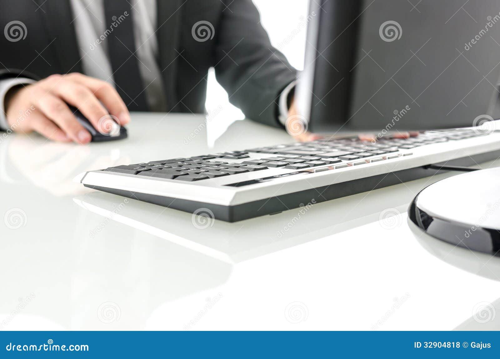office desk computer. Office Desk Computer