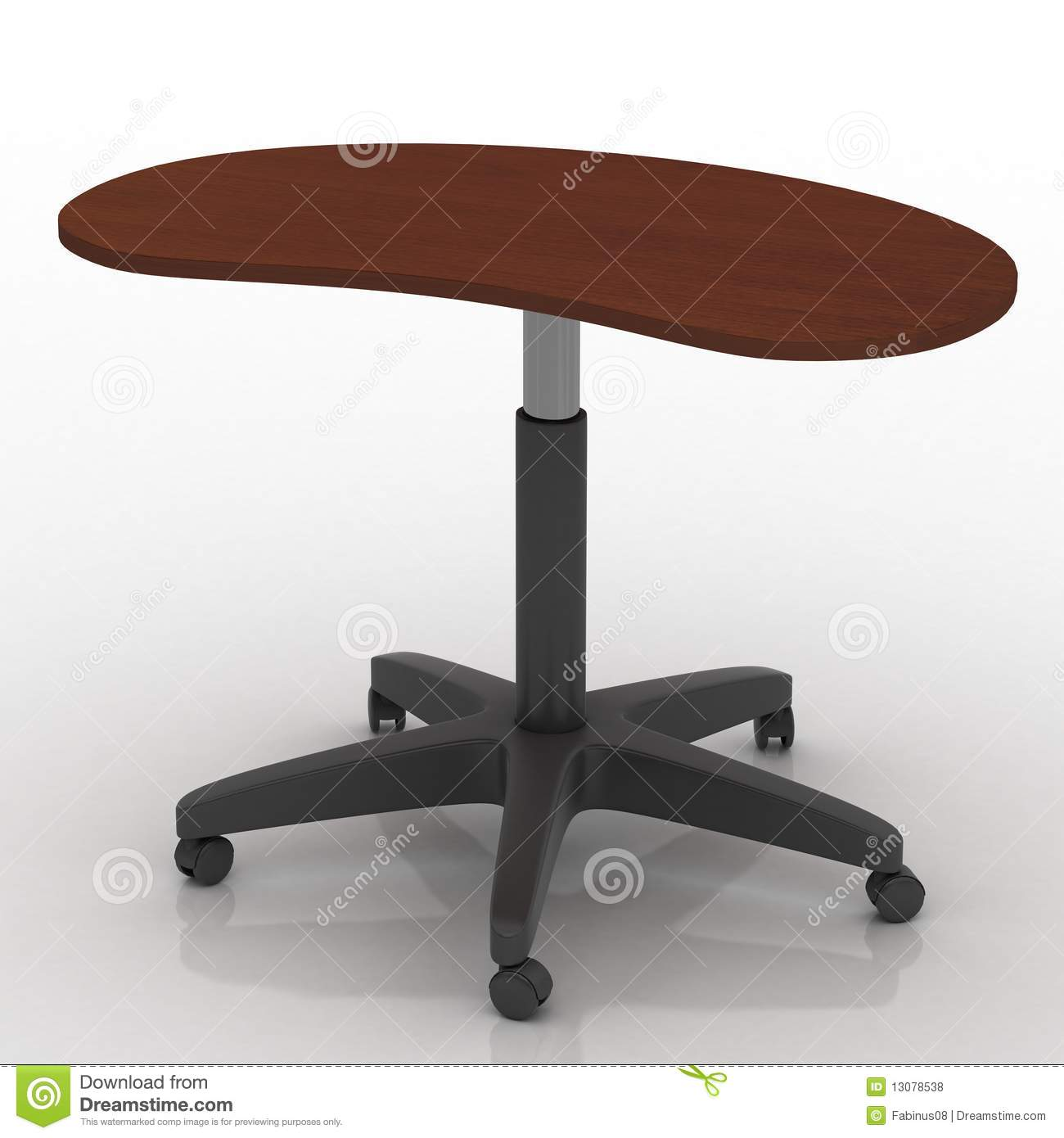 fice Desks Wheels s