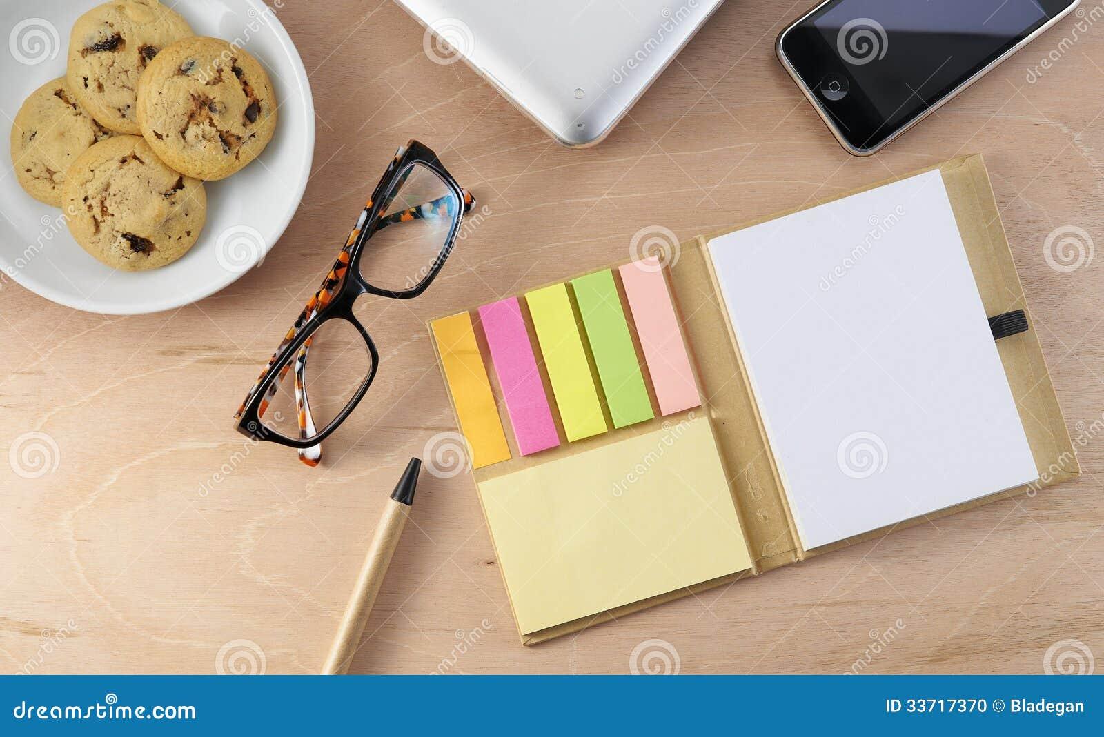 Office Desktop Stock Photo - Image: 33717370
