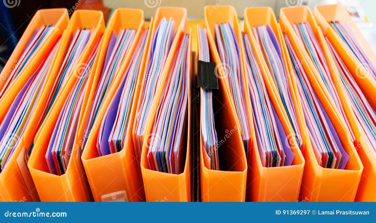 Office documents in folders