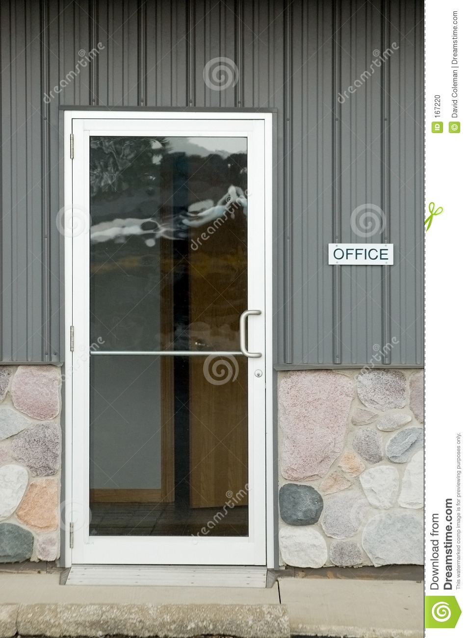 Office Door Stock Photo Image Of Office Handle Building