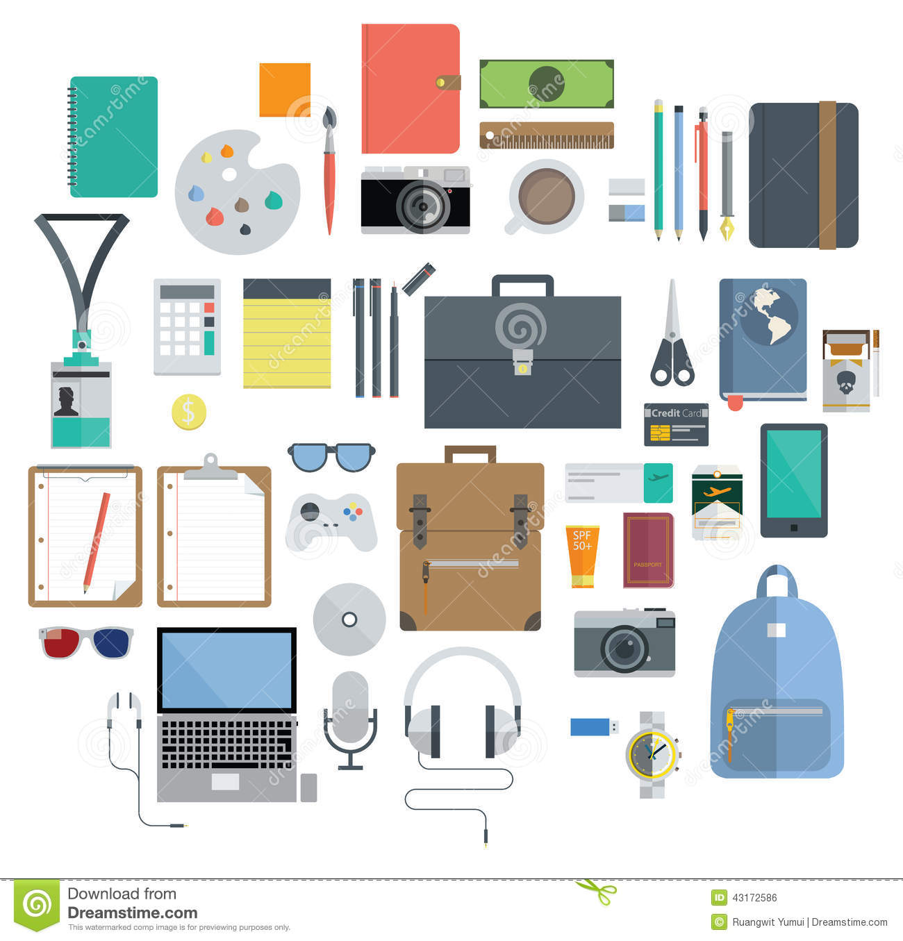 Of Office Equipment, Travel Gadget and Hobby Icon