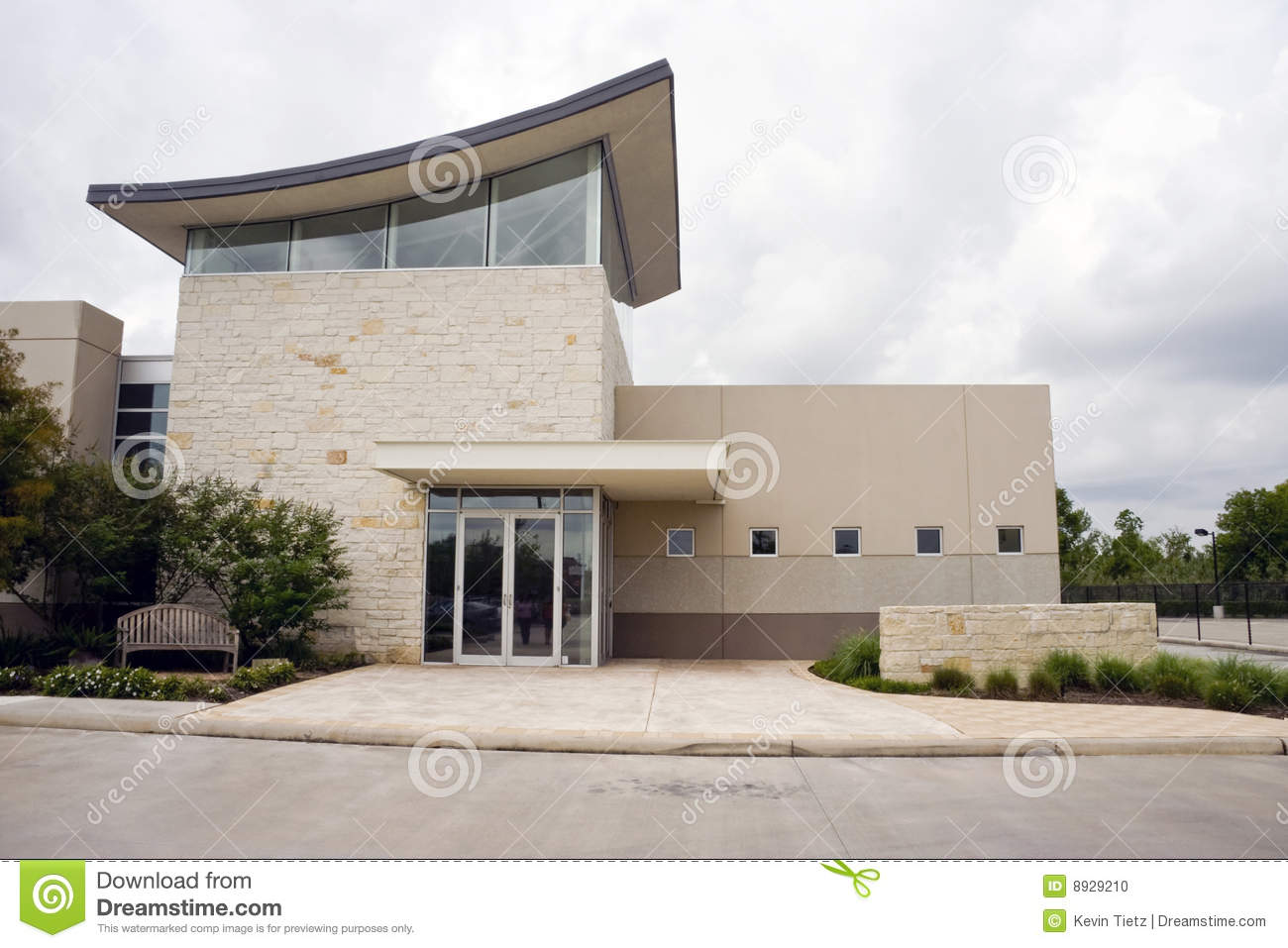 Office exterior stock photo image 8929210 for Modern small office building design