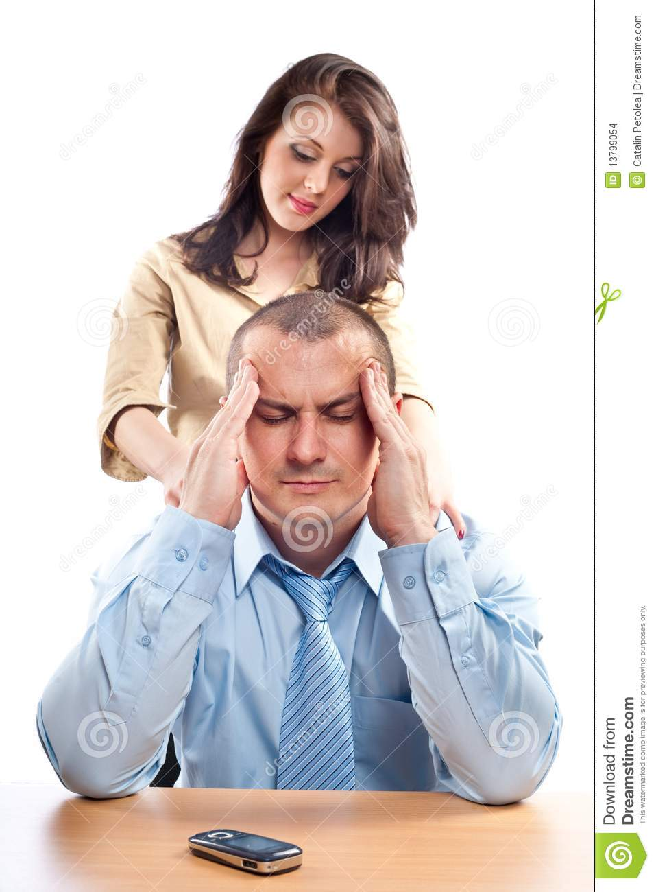 office flirting stock images   image 13799054