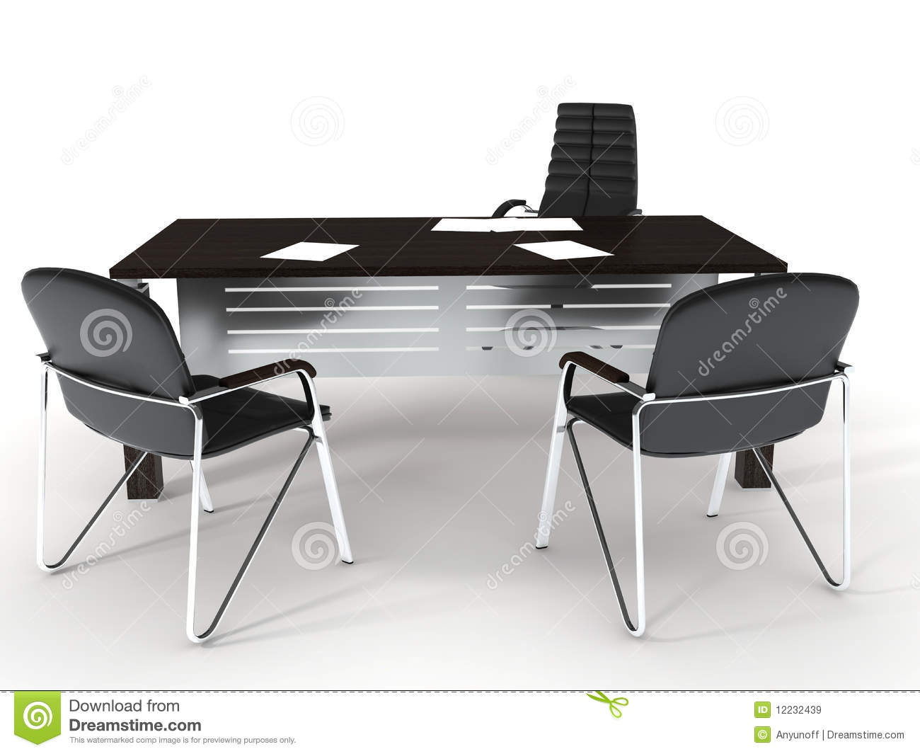 Office Furniture Royalty Free Stock Images Image 12232439