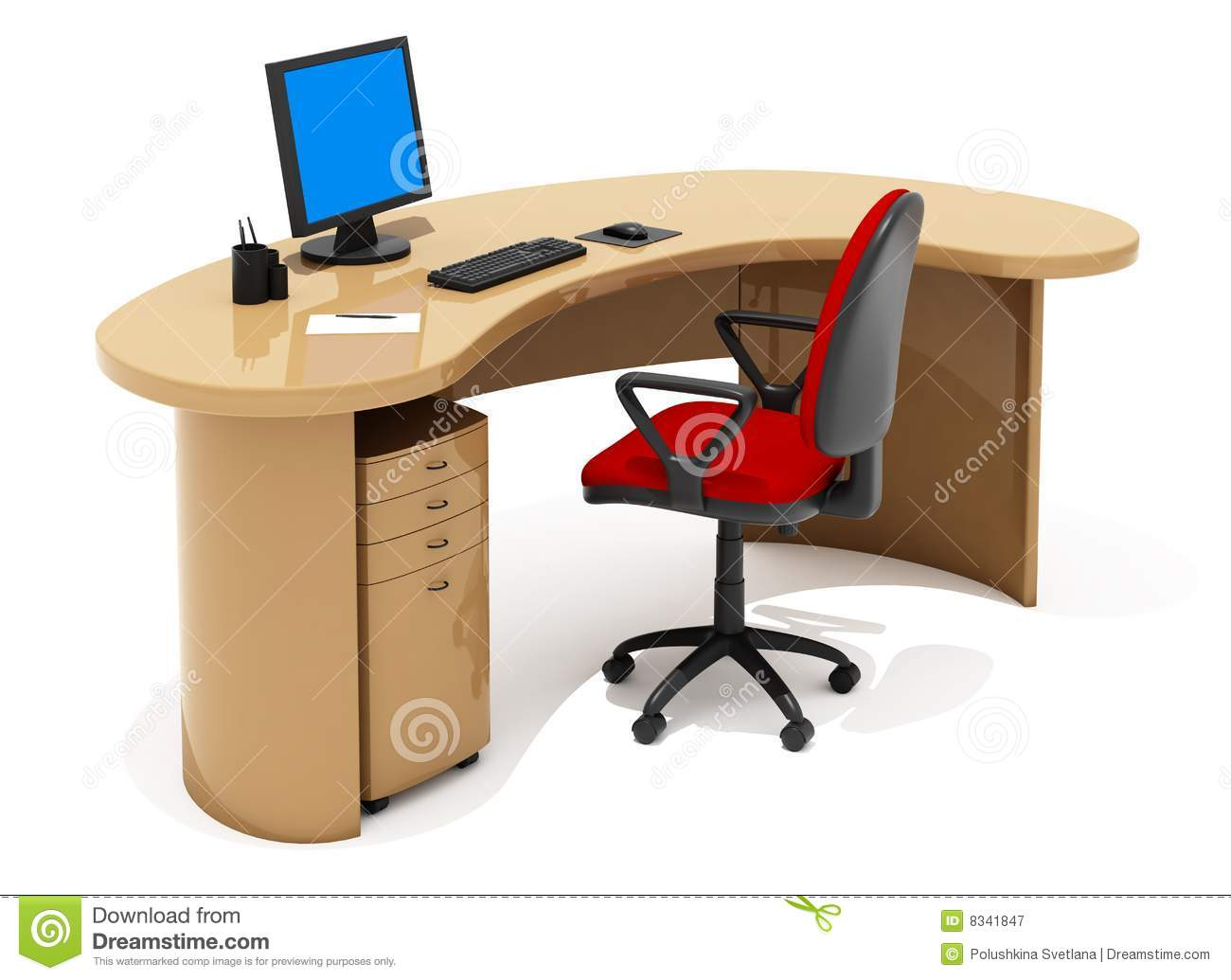 online office furniture office furniture stock illustration image of easy 24048