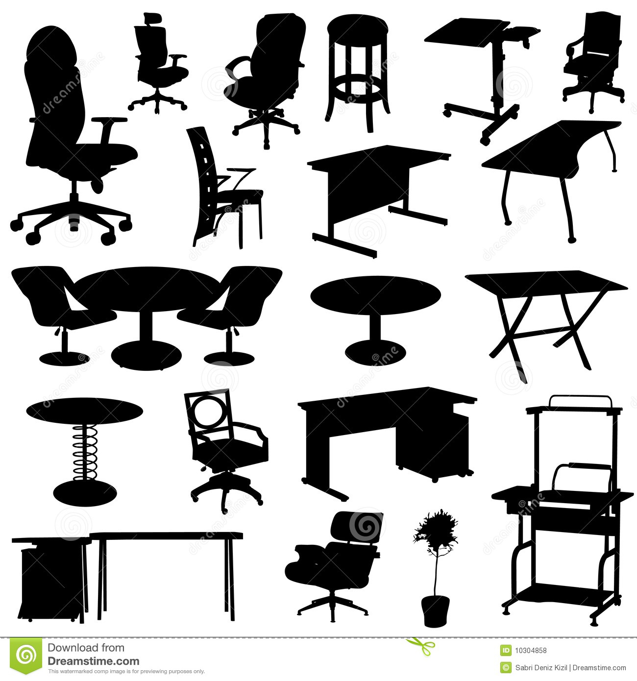 Amazing Download Vector Office Furniture For Free