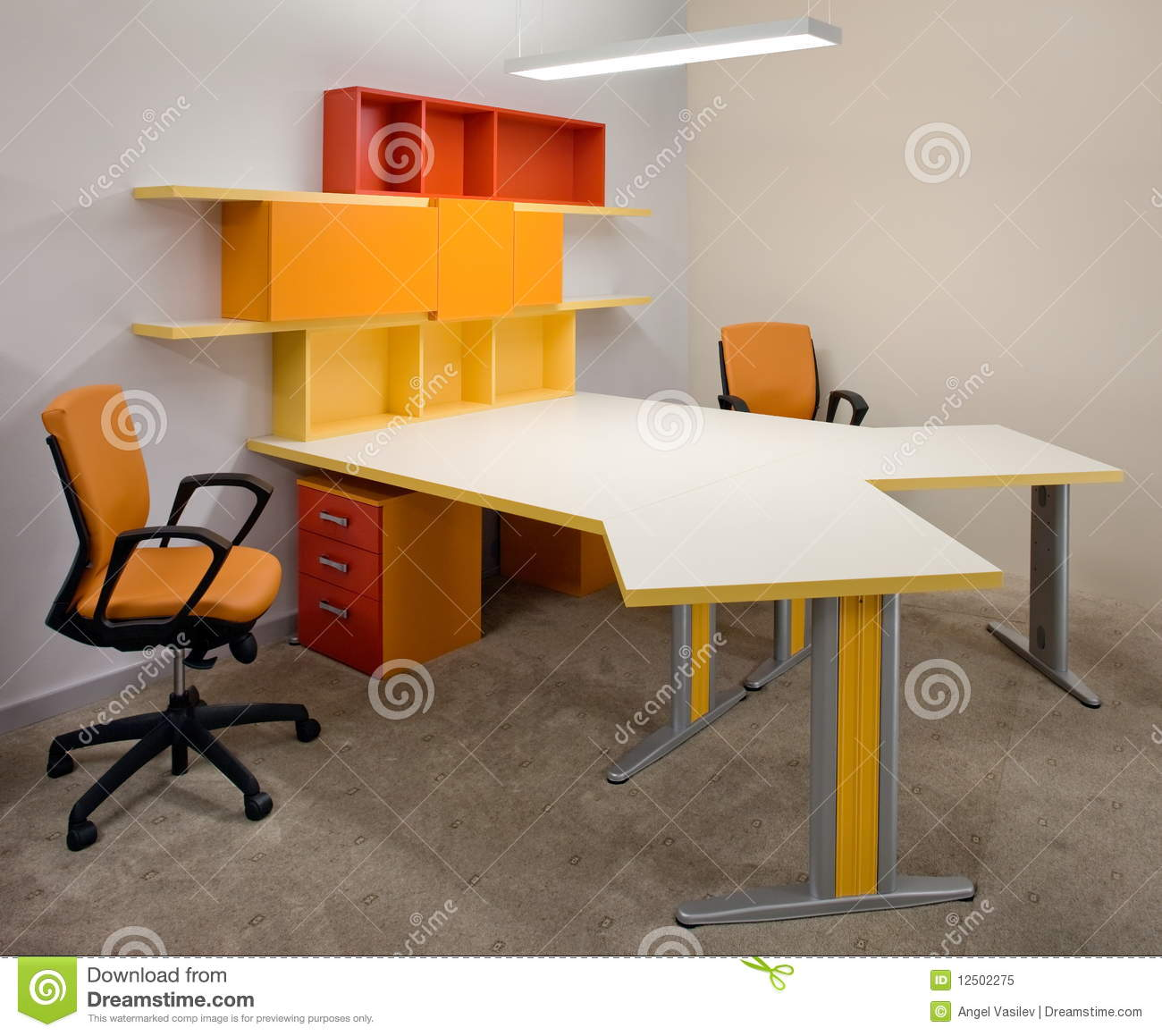 Royalty free stock photo office interior design elegant and luxury