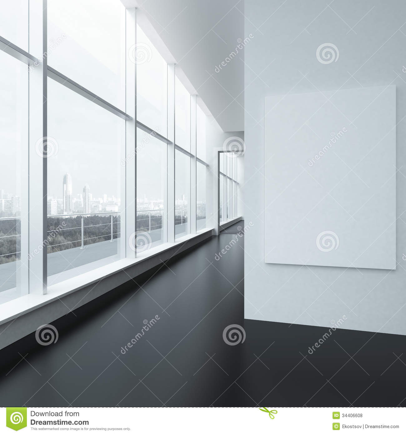 Interior office windows - Royalty Free Stock Photo Download Office Interior