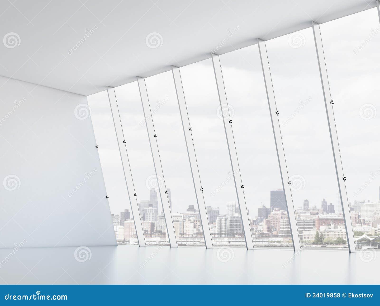 Interior windows - Office Interior With Windows