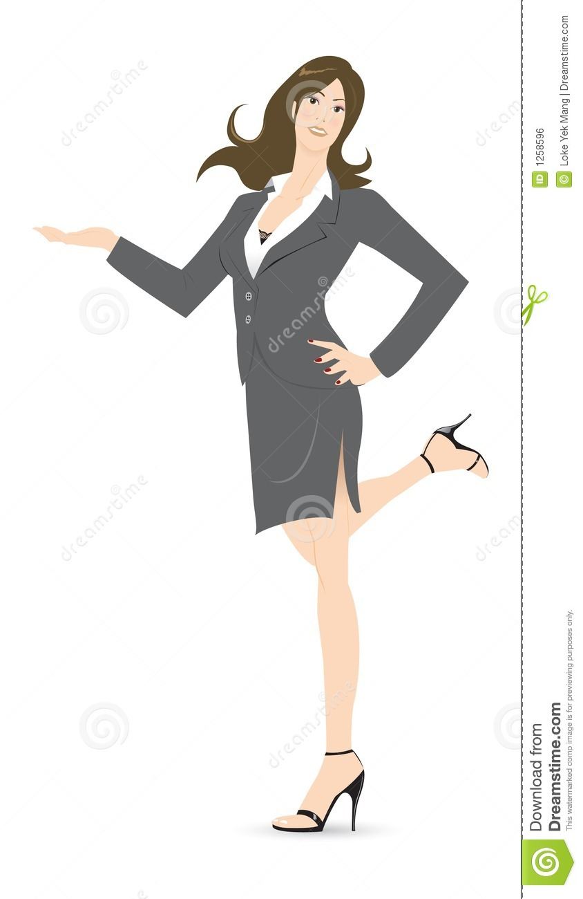 Office lady royalty free stock image image 1258596