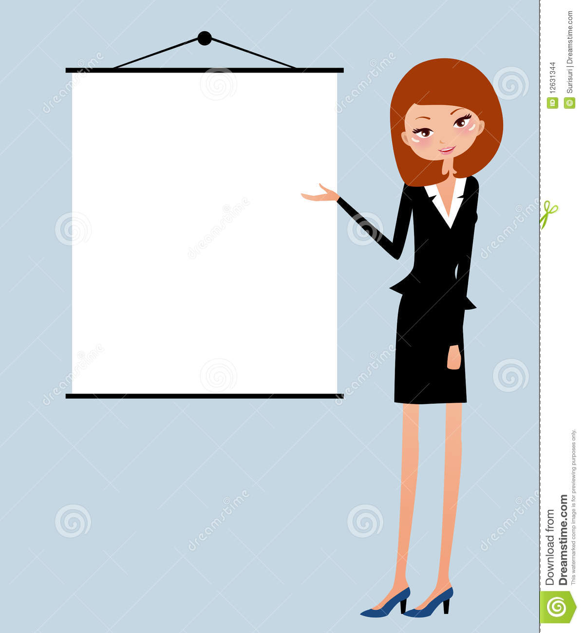 Office Lady Stock Images - Image: 12631344