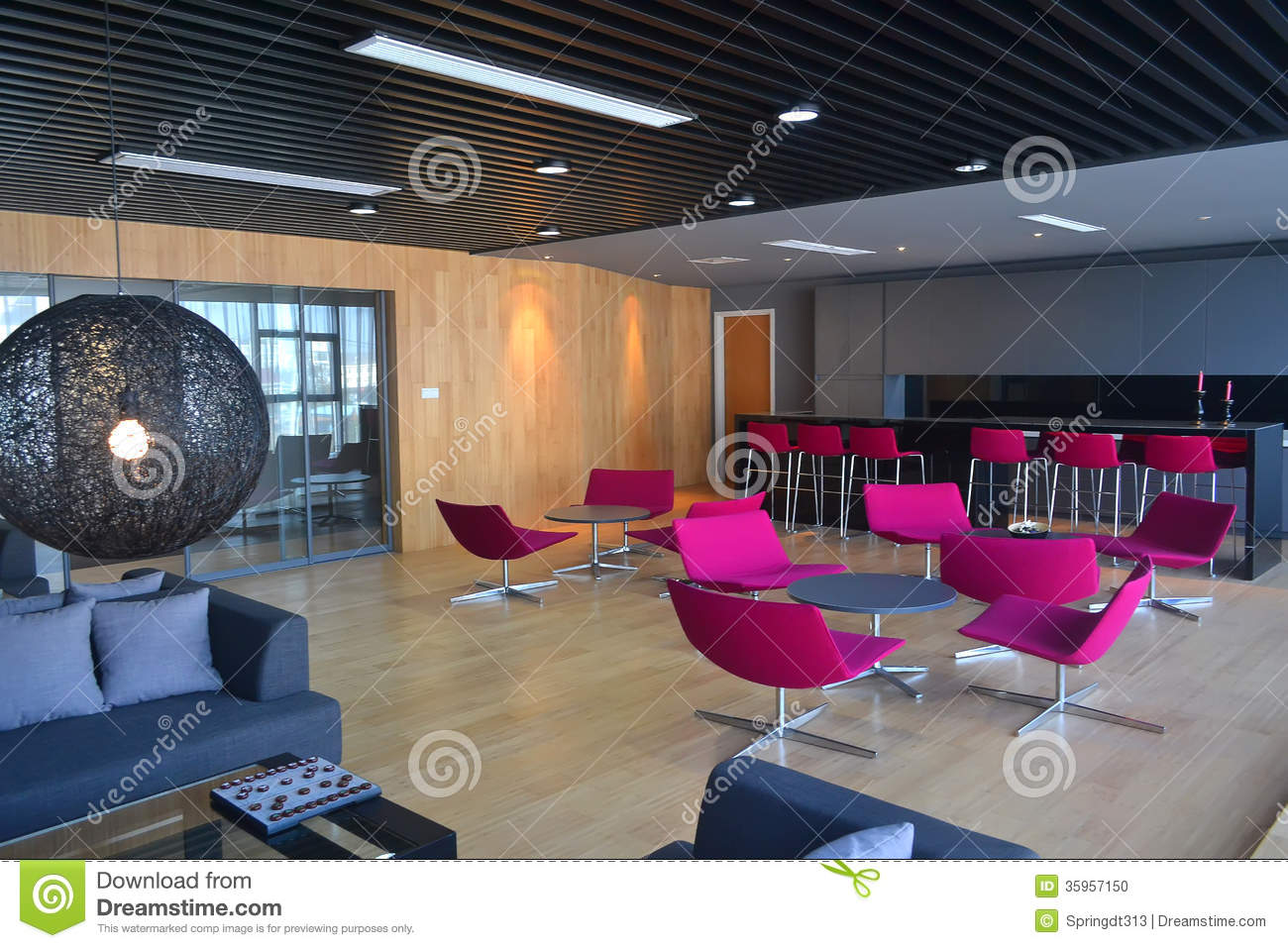 modern office lounge. coffee decoration lounge modern office e