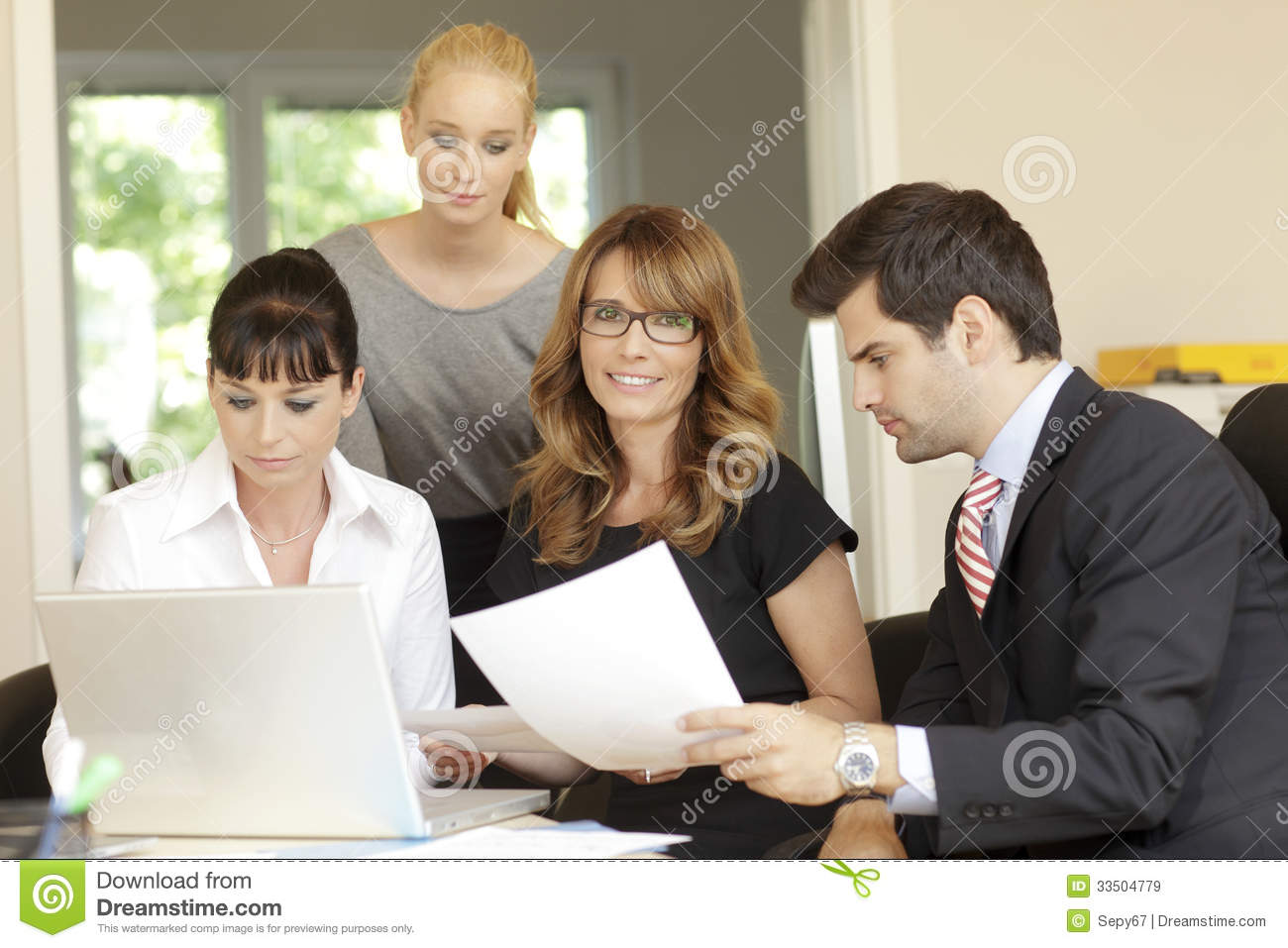 office meeting royalty free stock images