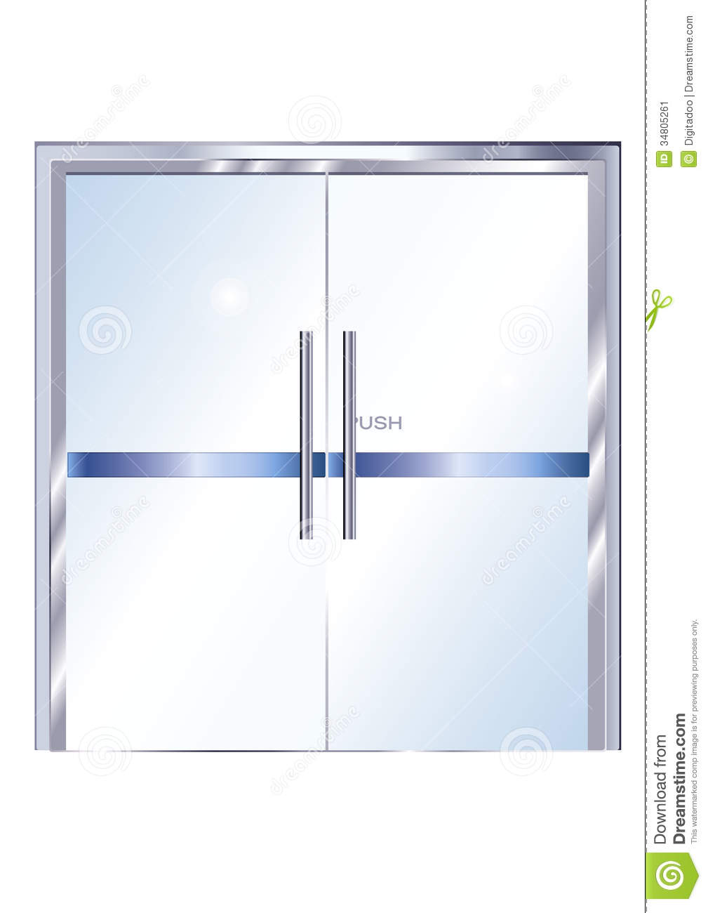 Window folding door