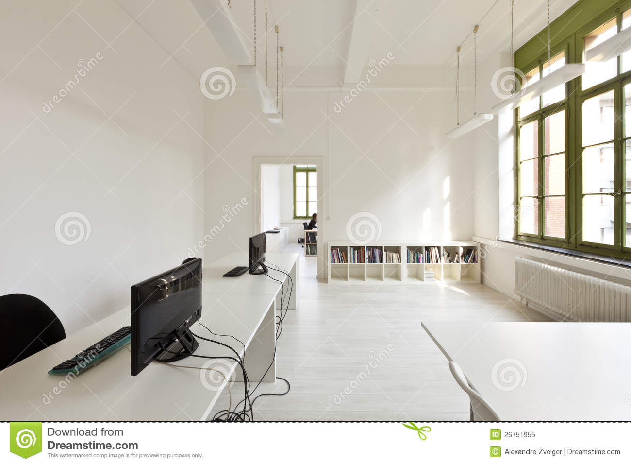 Empty Reception Area In Modern Office Stock Photos Image 37219213