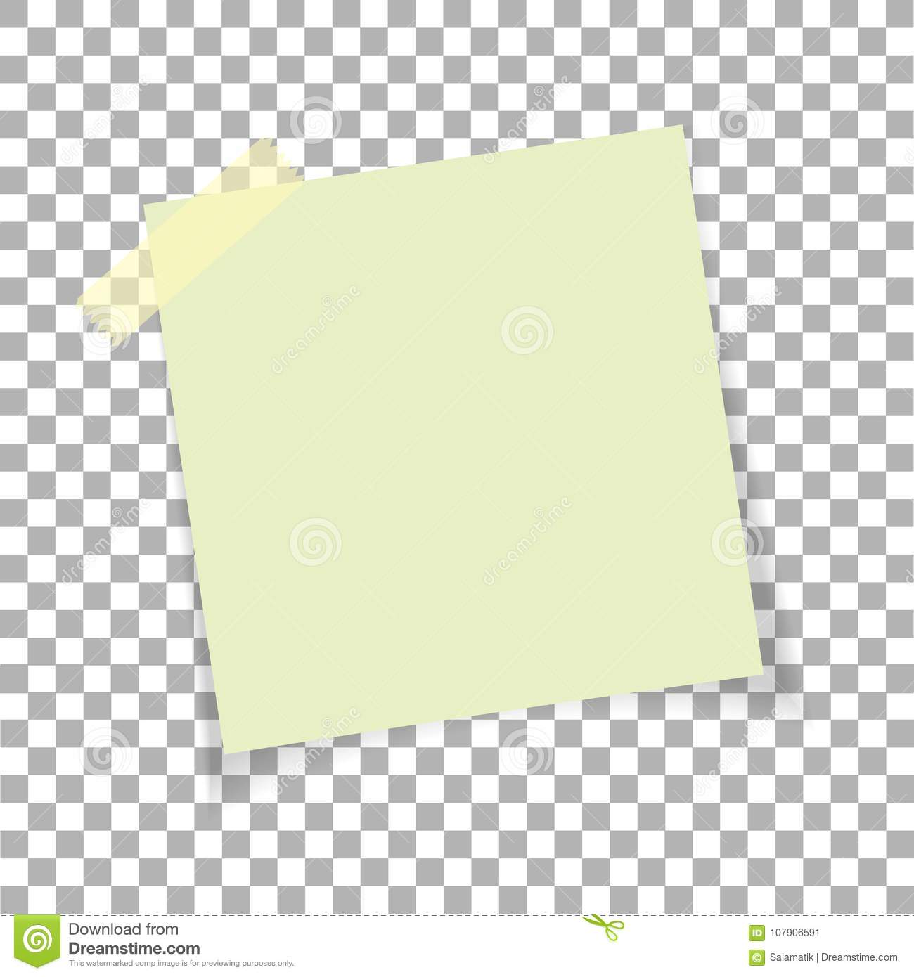 Office paper sticky note on transparent background post on sticky office paper sticky note on transparent background post on sticky tape template for your maxwellsz