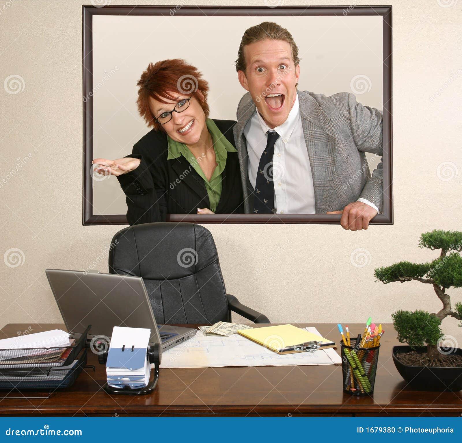 Office portrait stock photo image 1679380 - Office portrait photography ...