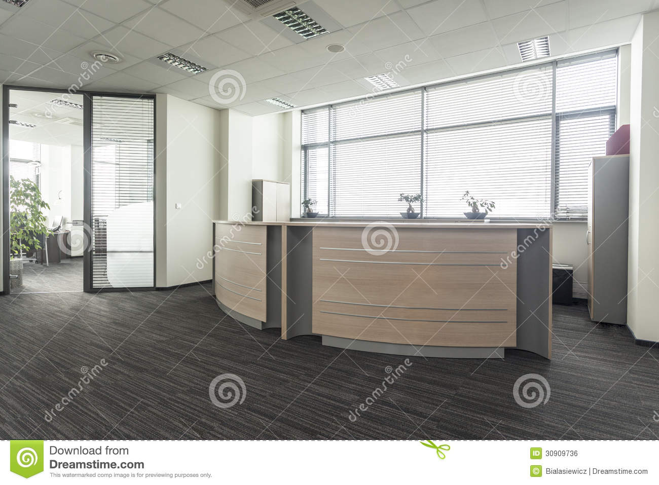 modern office entrance design office reception royalty free stock image image 30909736