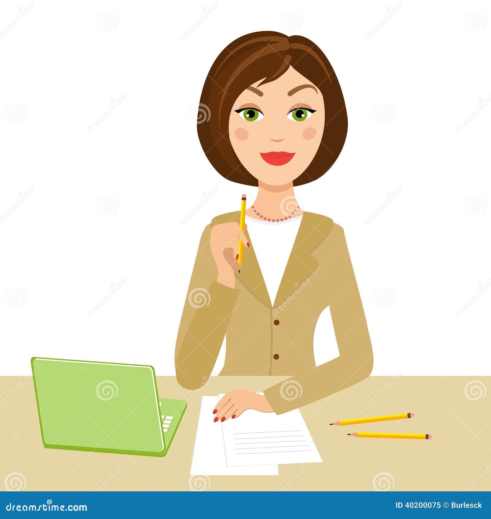 office secretary stock vector image 40200075 gossip clip art funny workplace gossip clipart