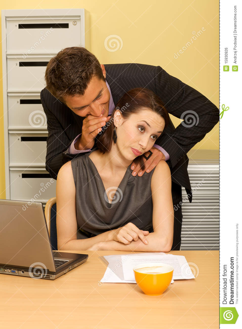Office Seduction Royalty Free Stock Image - Image: 15930926
