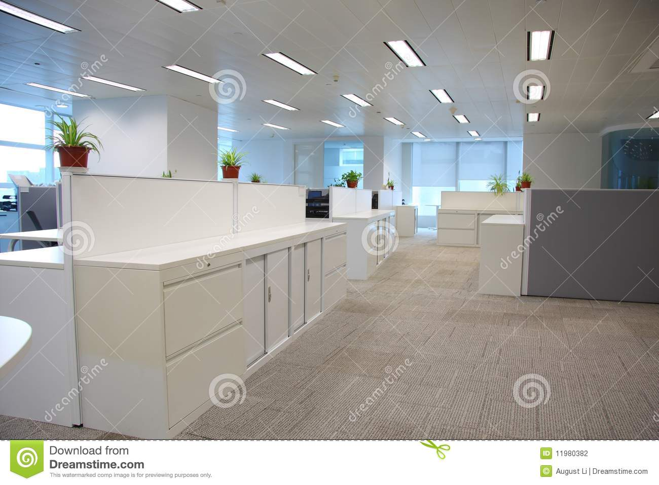 Office Setting Stock Photography Image 11980382