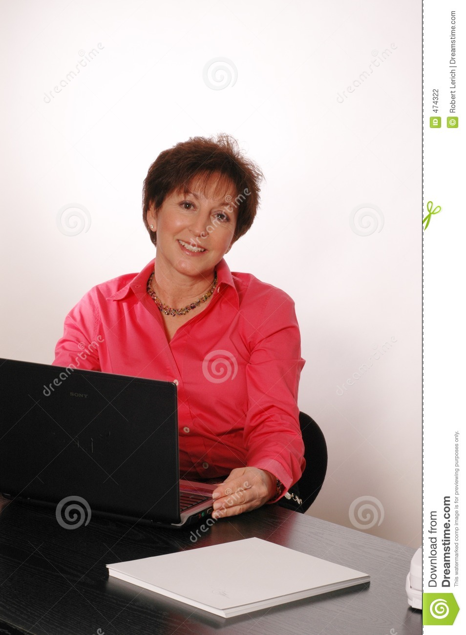 Download Office smile 2076 stock photo. Image of business, attractive - 474322