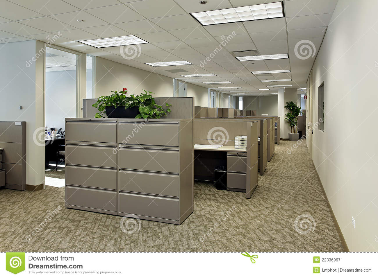 office with cubicles. Office Space With Cubicles