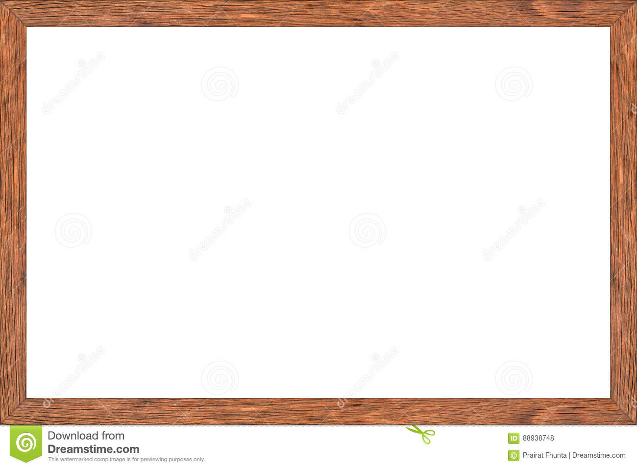 Download Office Space Dry Erase Board, Wood Frame With White Surface Stock  Photo   Image