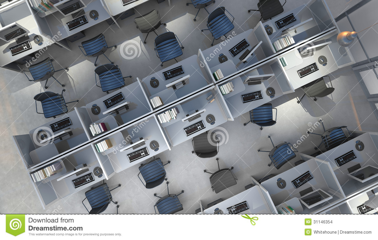 Office space stock images image 31146354 for Interior open space