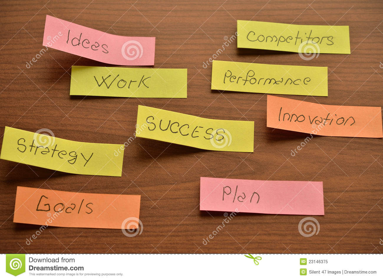 Download Office Stickers Stock Image. Image Of Innovation, Solution    23146375