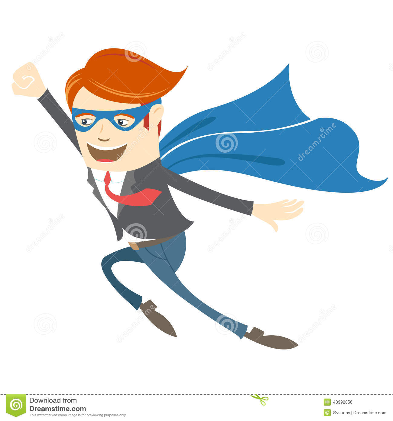 clipart superman flying - photo #8