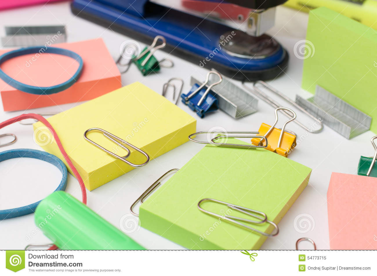 office supplies stock photo image 54773715