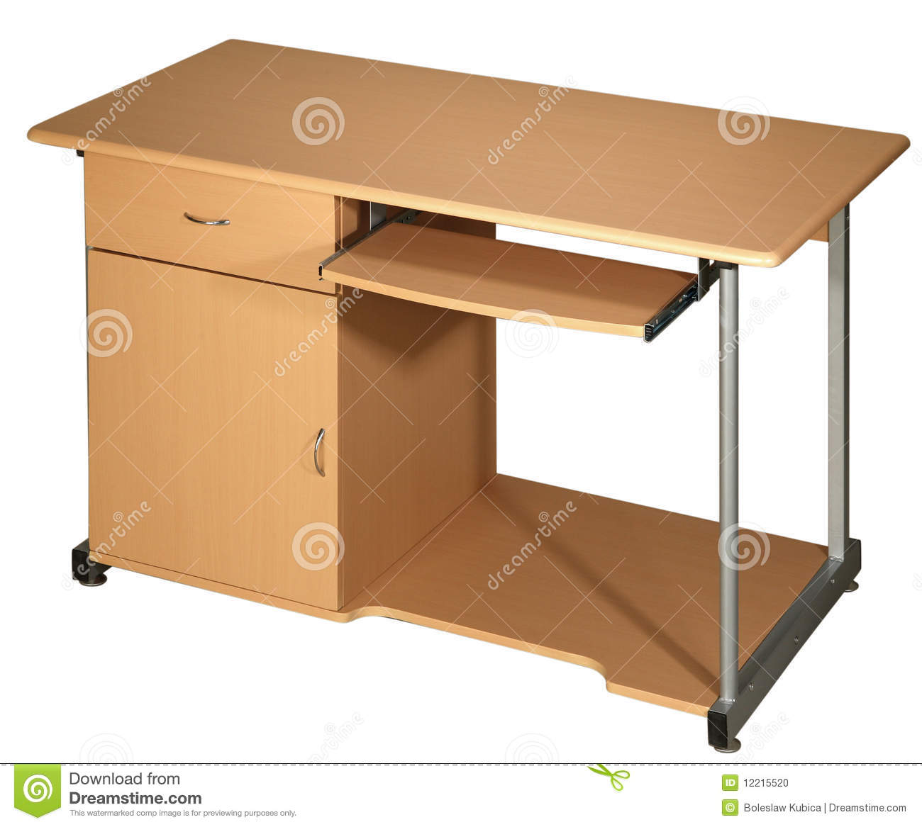 Office table isolated