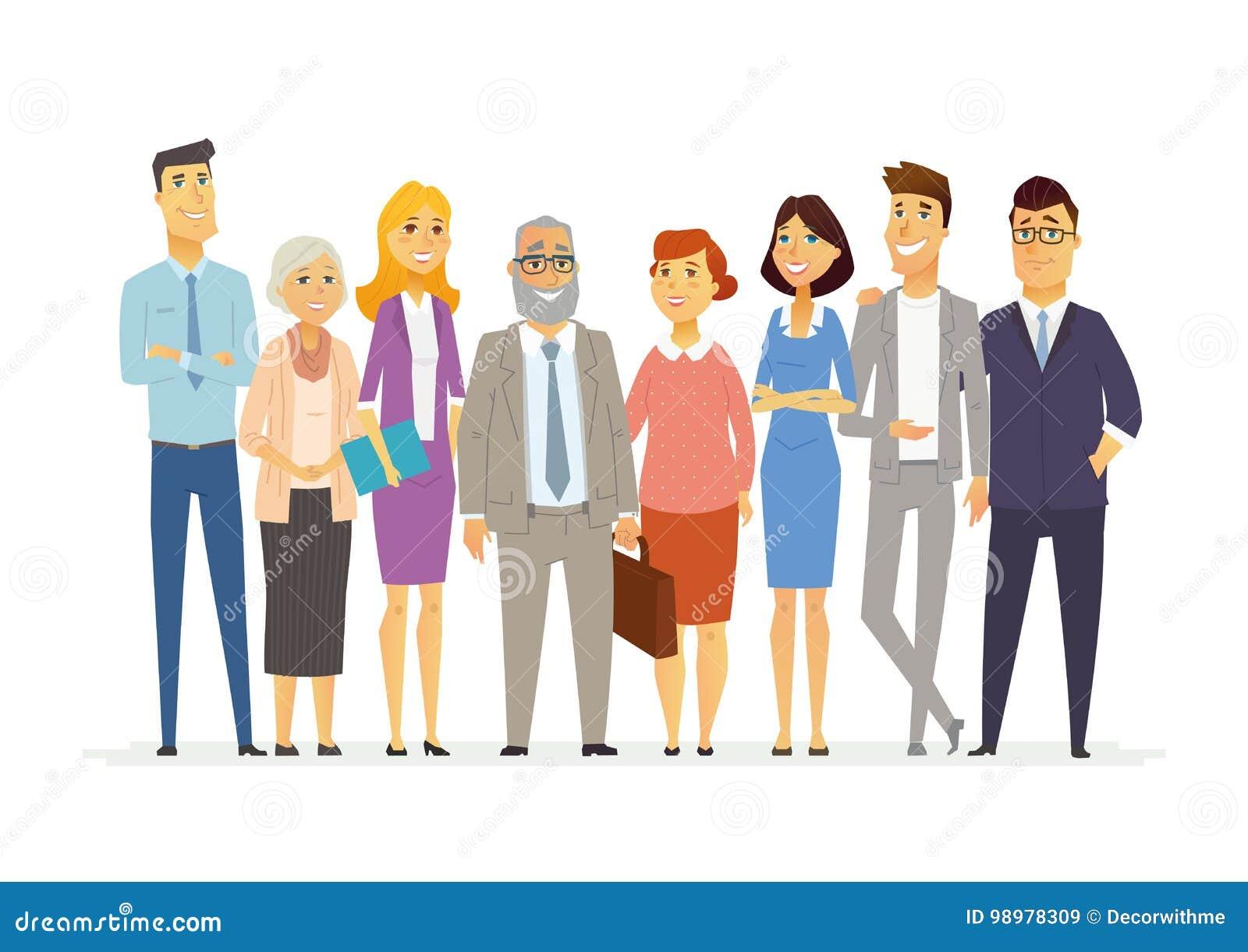 Business team cartoon characters cartoon vector cartoondealer com - Vector Meeting Scene With Cartoon Business People Cartoon Vector Cartoondealer Com 29962899