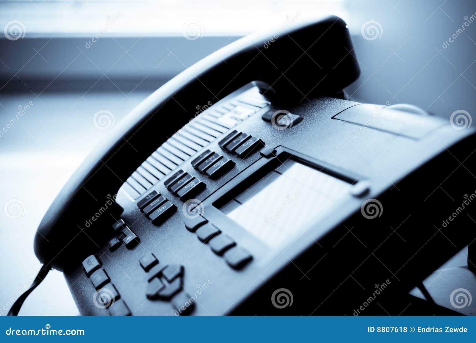 Office Telephone Royalty Free Stock Photos - Image: 8807618