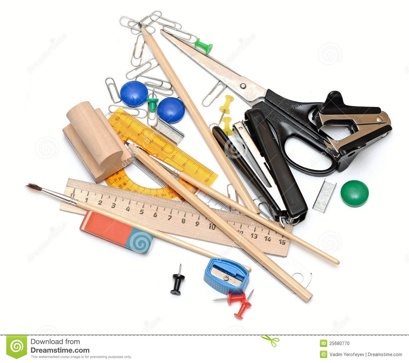 Office Tools Stock Photo - Image: 25680770