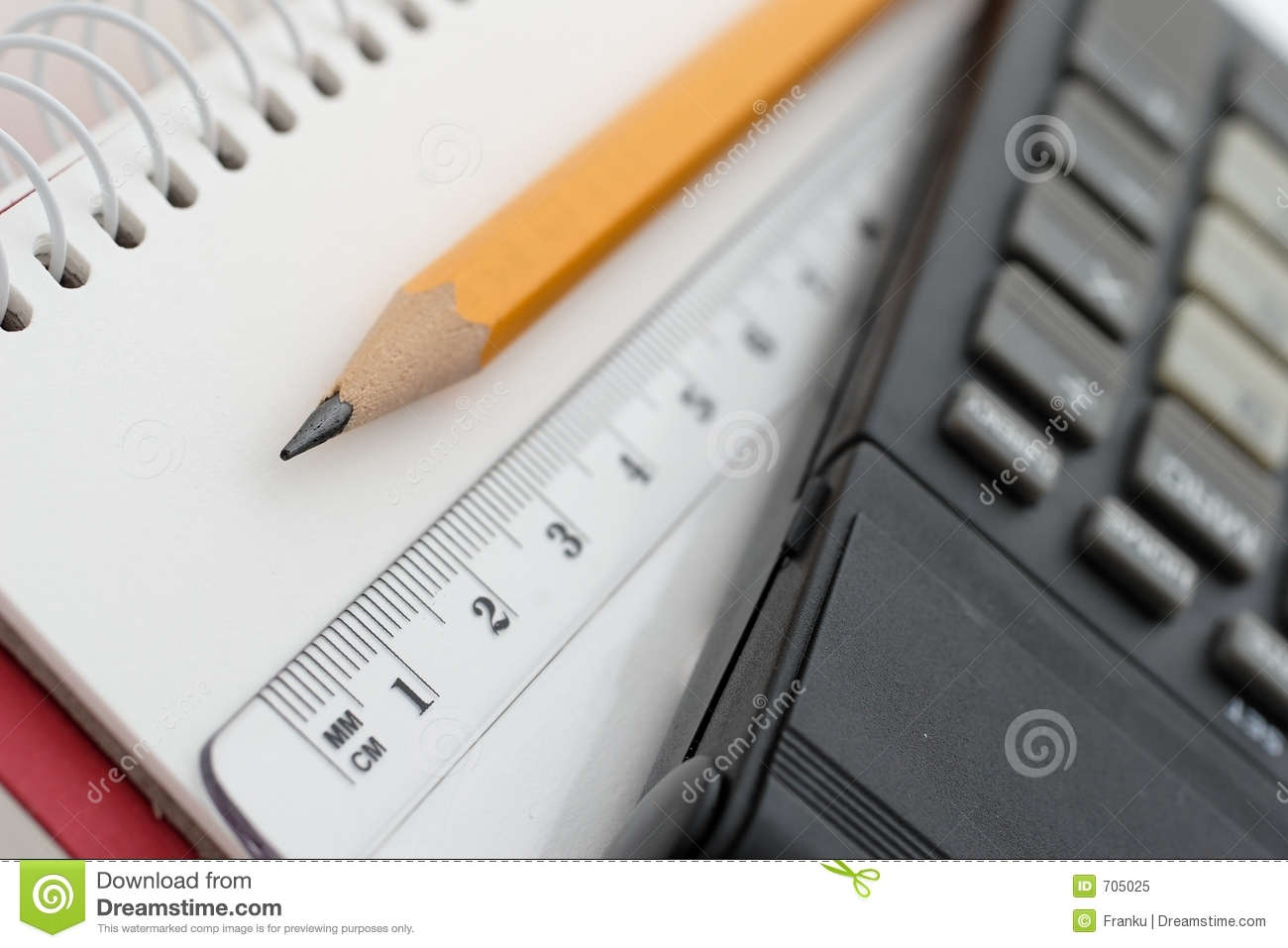 Office Tools Royalty Free Stock Photo - Image: 705025